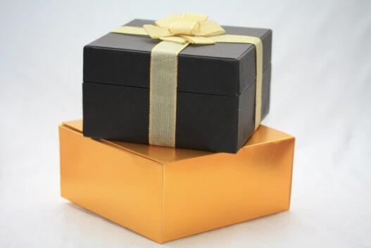 2 gaver som er pænt pakket ind